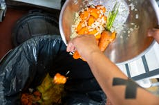 Food waste has risen back to pre-pandemic levels as lockdown eases, according to new survey