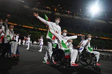 Paralympics opens with no spectators as spiralling Covid crisis overwhelms Japan