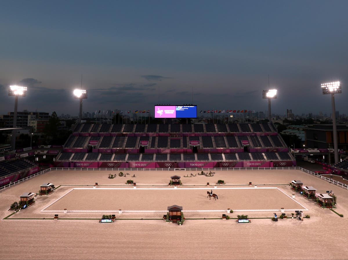 When are the equestrian events taking place at the Tokyo Paralympics?