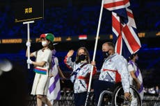 Paralympics medal table: Who's winning Tokyo 2020 迄今为止?