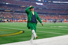Notre Dame on defence after survey lists leprechaun mascot as fourth most offensive