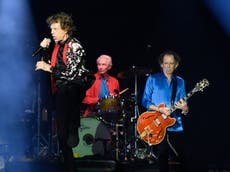 Charlie Watts death: Watch drummer's final on-stage performance with the Rolling Stones