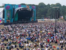 Meer as 1,000 test positive after attending Latitude Festival as part of Covid pilot scheme for large events