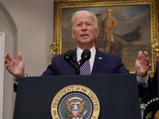 Biden news – live: President accused of signing Afghans' death warrants as he insists on 31 August withdrawal