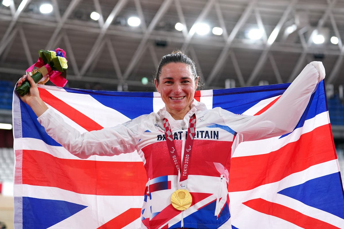 Sarah Storey beats teammate and the clock to yet more Paralympic glory