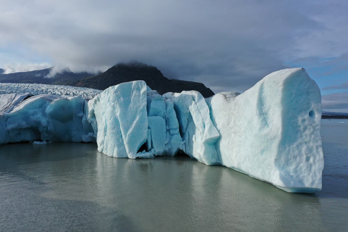 Glacier melt is now so rapid, it's causing the Earth's crust to move