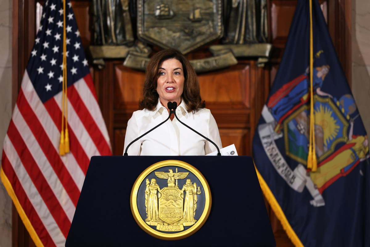 New York's first woman governor vows to foster 'dramatic change in culture'