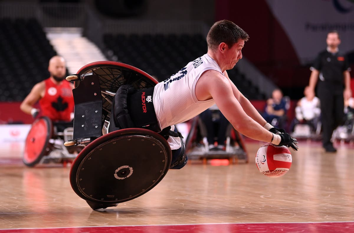 When are the wheelchair rugby matches at the Tokyo Paralympics?
