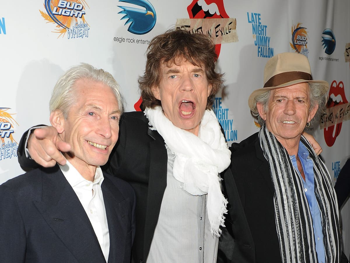 Mick Jagger and Keith Richards share tributes to Charlie Watts