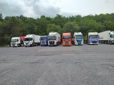Food shortages will end when workers are paid more, say HGV drivers