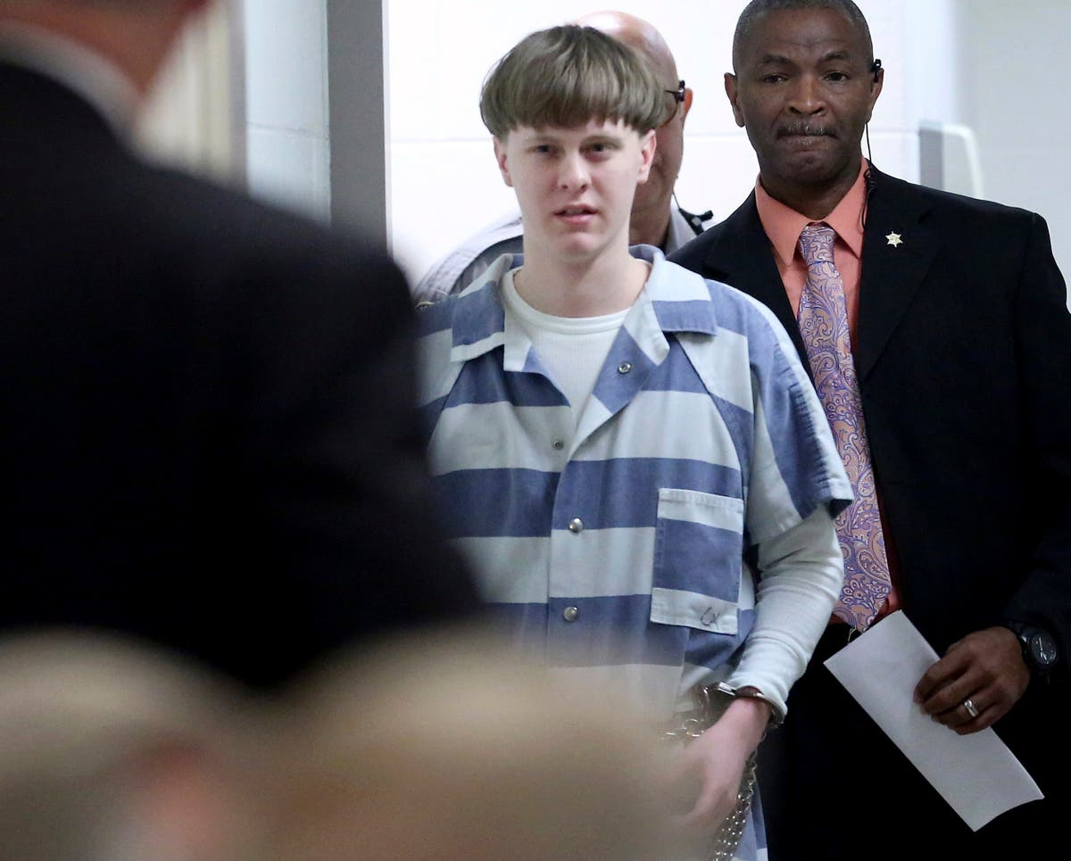 Charleston church shooter's death sentence upheld