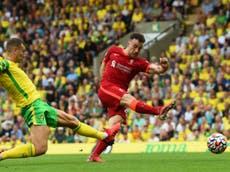 Ruthlessly efficient Diogo Jota shoots Liverpool into a happy selection dilemma