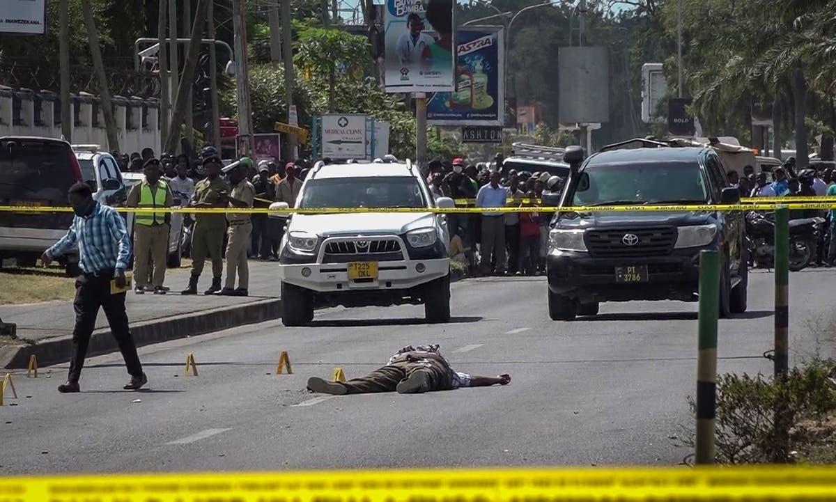 Tanzania says 5 dead in gun battle near French Embassy