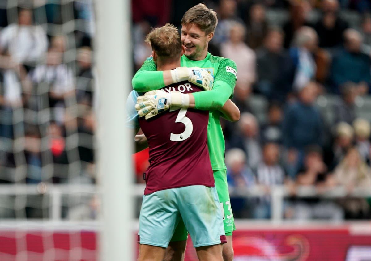 Wayne Hennessey repels Newcastle as Burnley progress in Carabao Cup on penalties