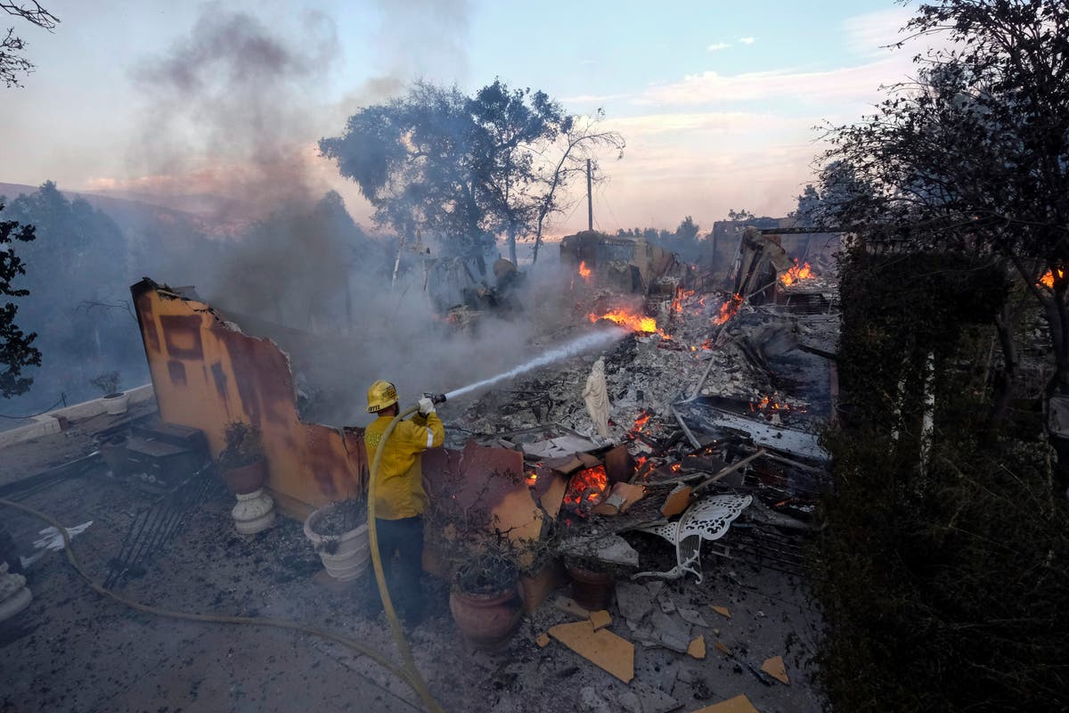 California wildfire dangers may be spreading south