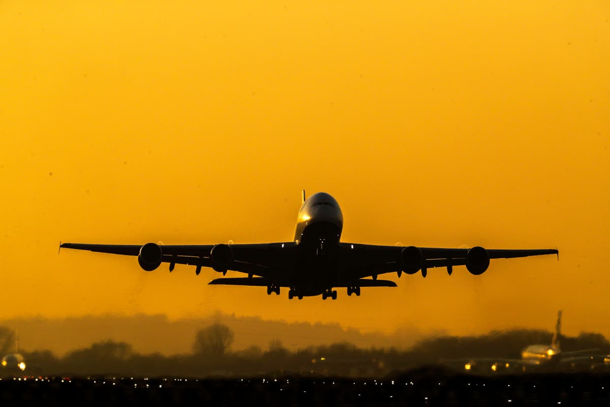 Air arrivals down 87% on pre-Covid levels