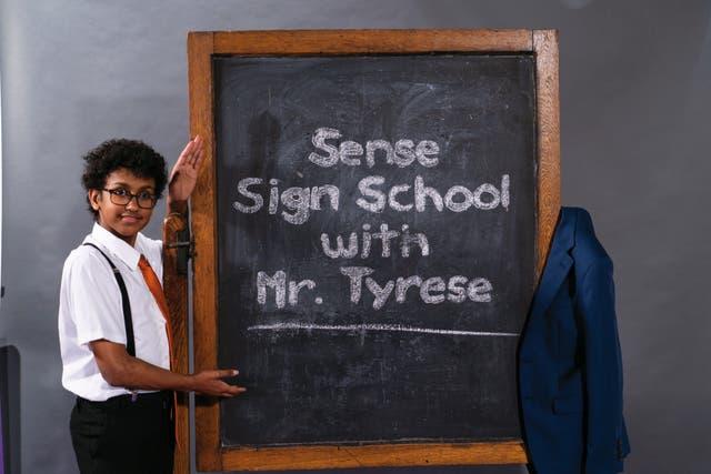 Tyrese Sense Sign School