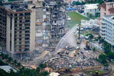 Mayor of Florida town where building collapse killed 97 tells tenants of building he owns to vacate for safety checks