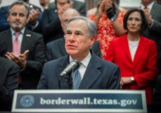 Texas governor Greg Abbott's approval rating falls amid widespread anger