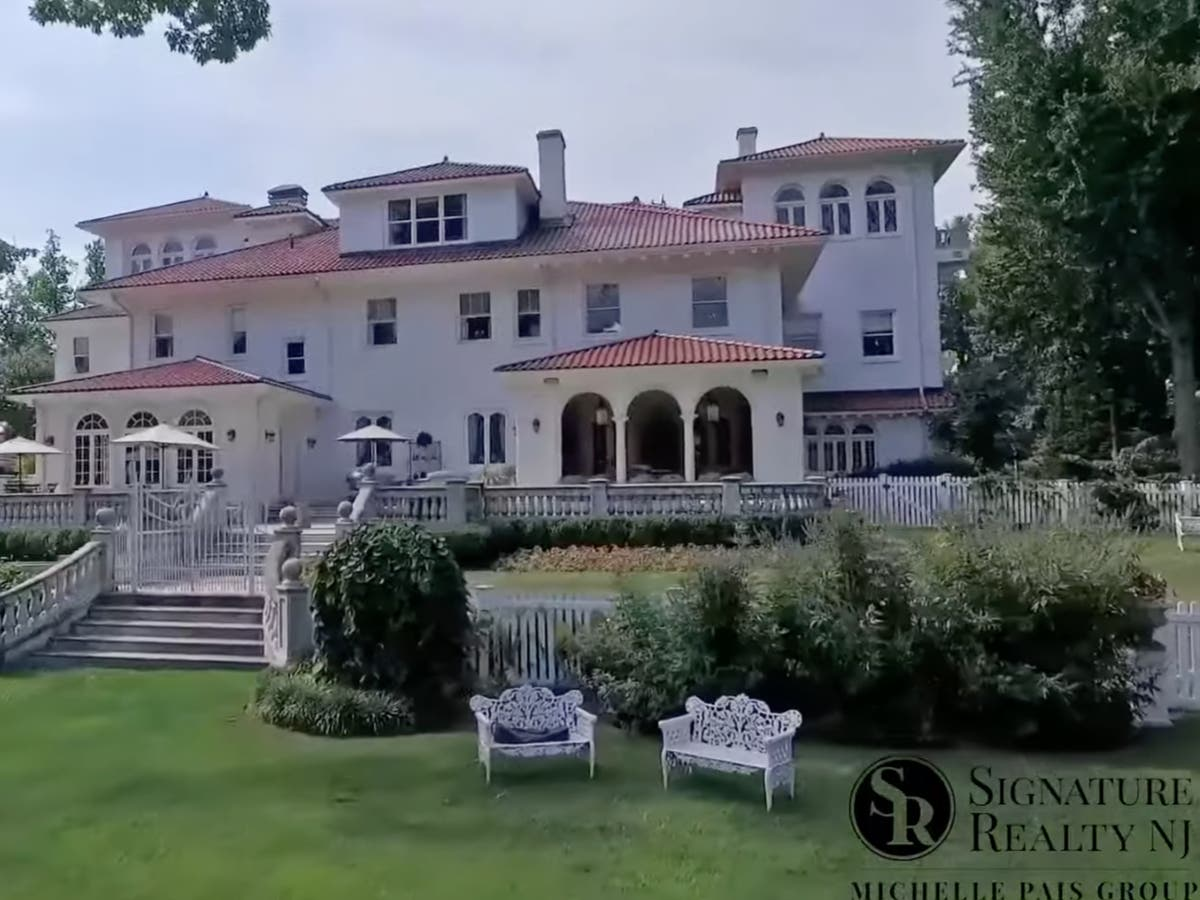 'Grandiose' New Jersey mansion originally listed for $39m sells for just $4.6m