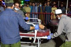 Afganistan nuus regstreeks: Verenigde Koninkryk in 'laaste ure' van ontruimingsmissie