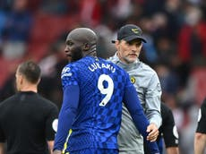 Liverpool will be 'stress test' for Chelsea and Romelu Lukaku, Thomas Tuchel claims