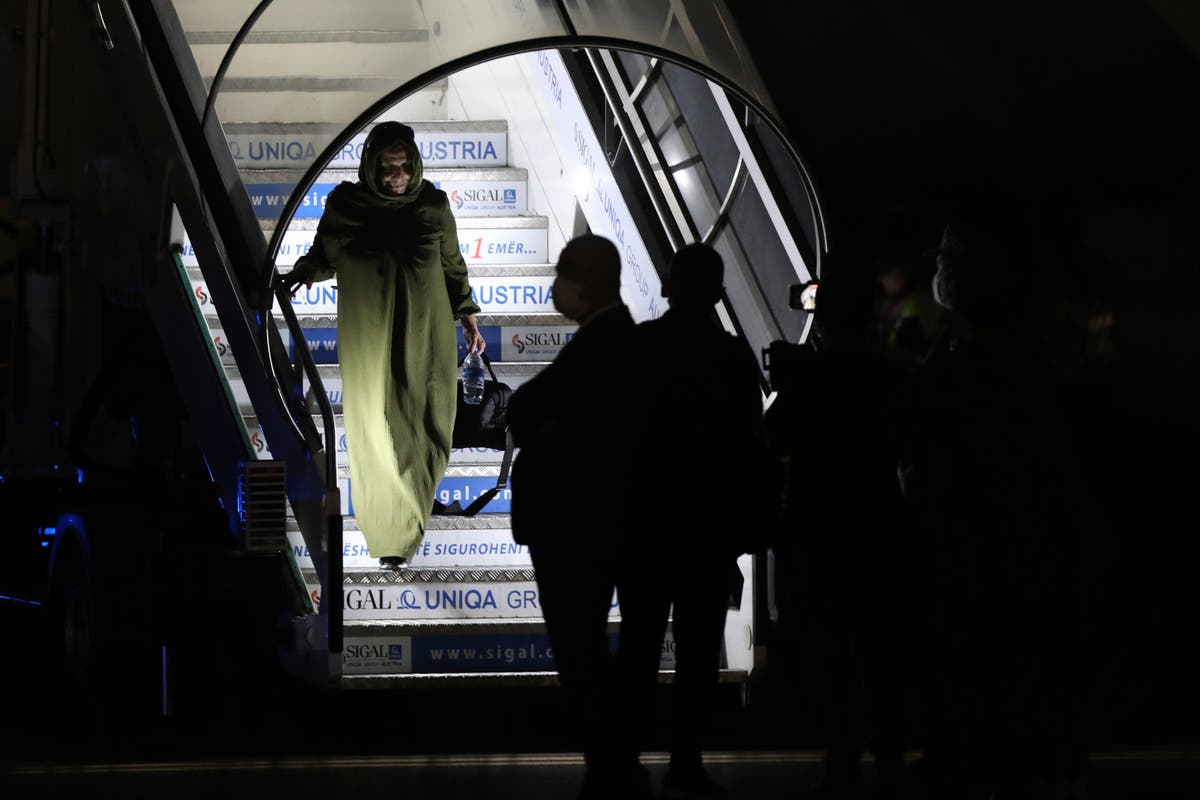 Albania gets 1st Afghan evacuees after deadly Kabul blasts