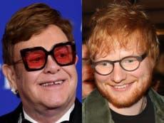 Elton John reveals what NSFW gift Ed Sheeran gave him for his birthday