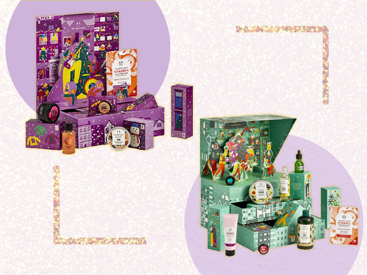 It's snow joke: We've reviewed this year's Body Shop advent calendars