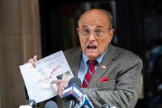 Rudy Giuliani denies having an alcohol problem in bizarre TV interview