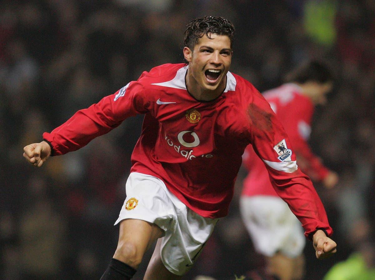 Marcus Rashford and Jadon Sancho react to Cristiano Ronaldo's return to Man United