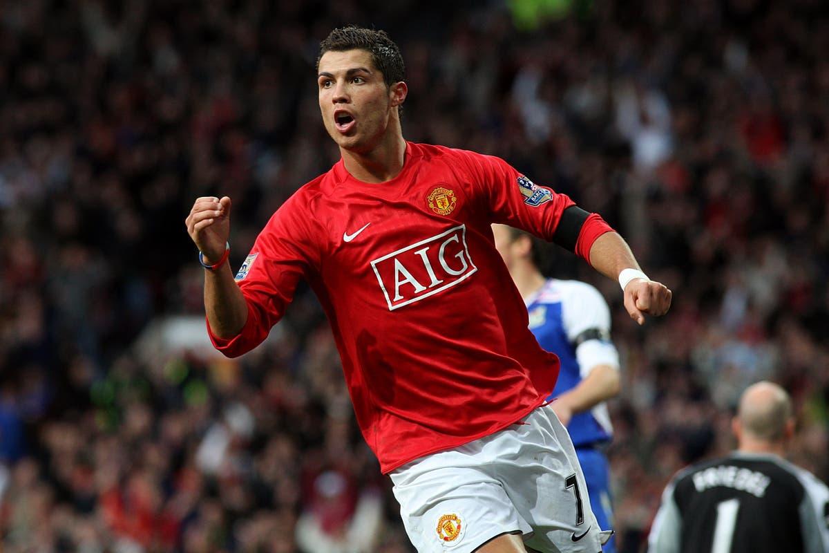 In pictures: Cristiano Ronaldo's career so far