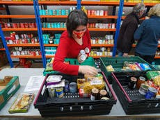 Food banks bracing for 'busiest and most difficult winter on record'