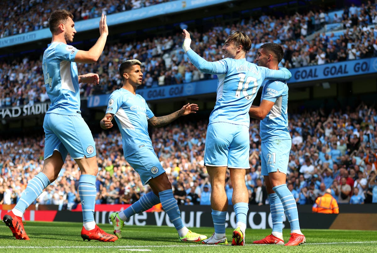 Ferran Torres shines as Man City thrash shambolic Arsenal to go top of Premier League