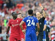 Uitdagende Chelsea bly gelykop teen Liverpool ná die rooi kaart van Reece James