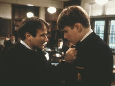 Ethan Hawke was convinced Robin Williams hated him on the set of Dead Poets Society