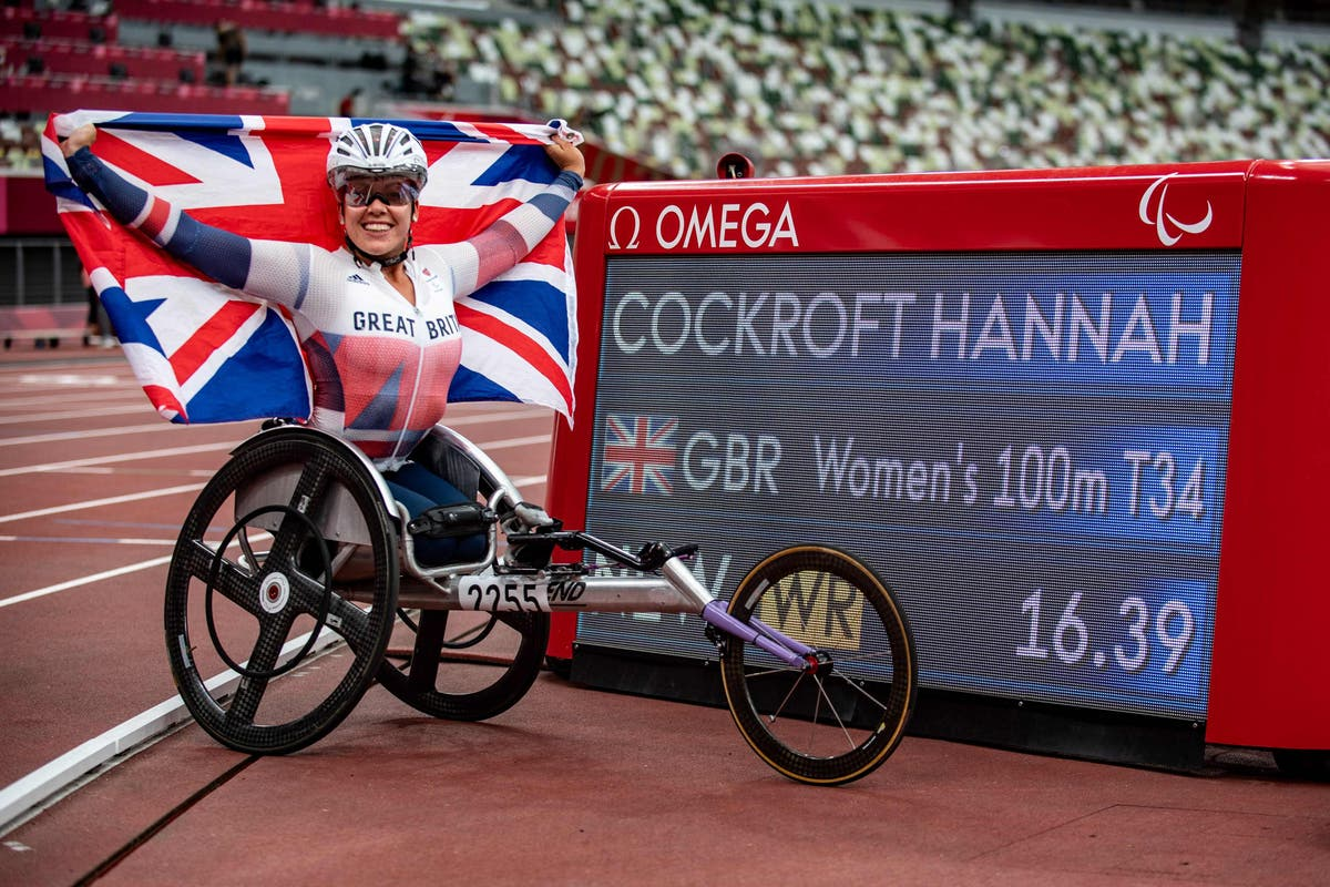 Hannah Cockroft concerned by impact of empty stadiums after winning 100m gold