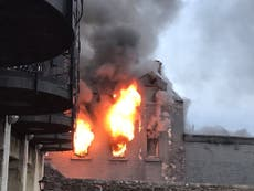 Diners flee 'terrible' fire at TV chef Nick Nairn's restaurant
