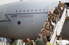 RAF forberedte seg på å slå til mot IS i Afghanistan, sier offiser