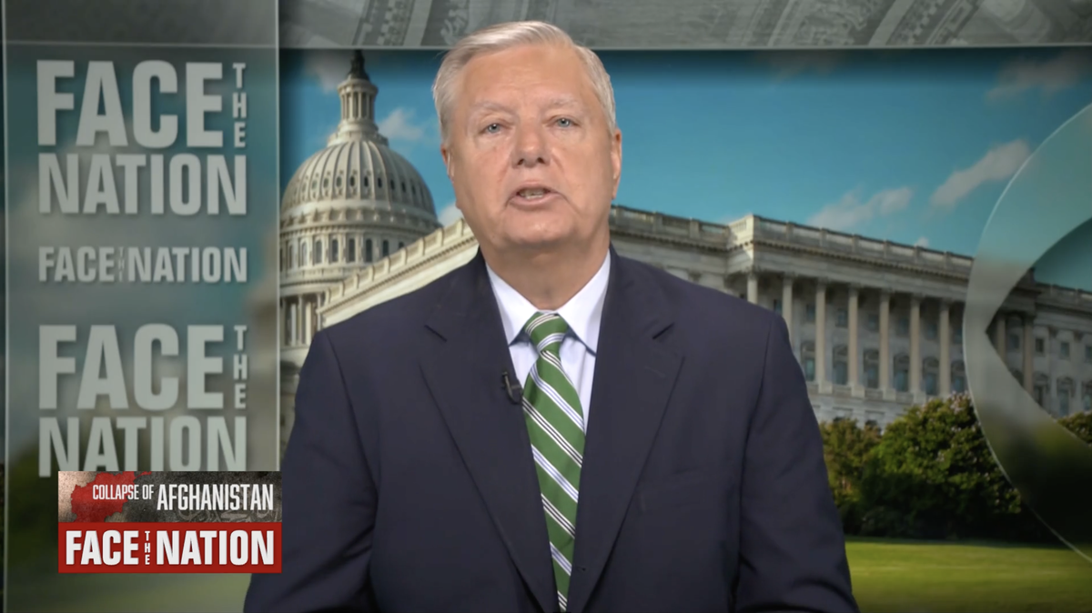 Lindsay Graham repeats call for Joe Biden to be impeached over Afghanistan withdrawl
