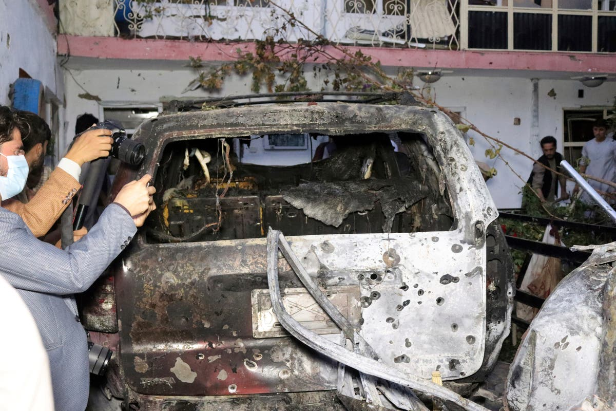 White House confirms Kabul airport rocket attack - follow live