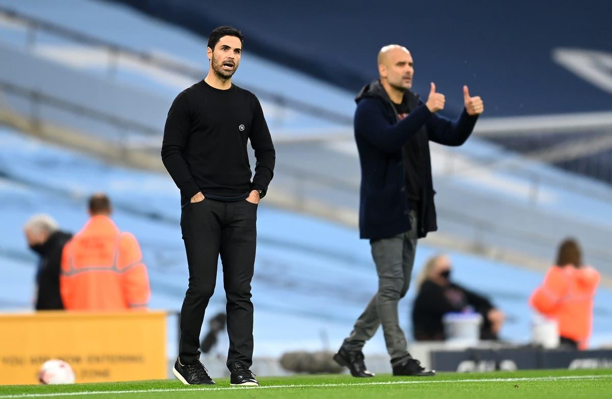 Pep Guardiola backs Arsenal boss Mikel Arteta to come good