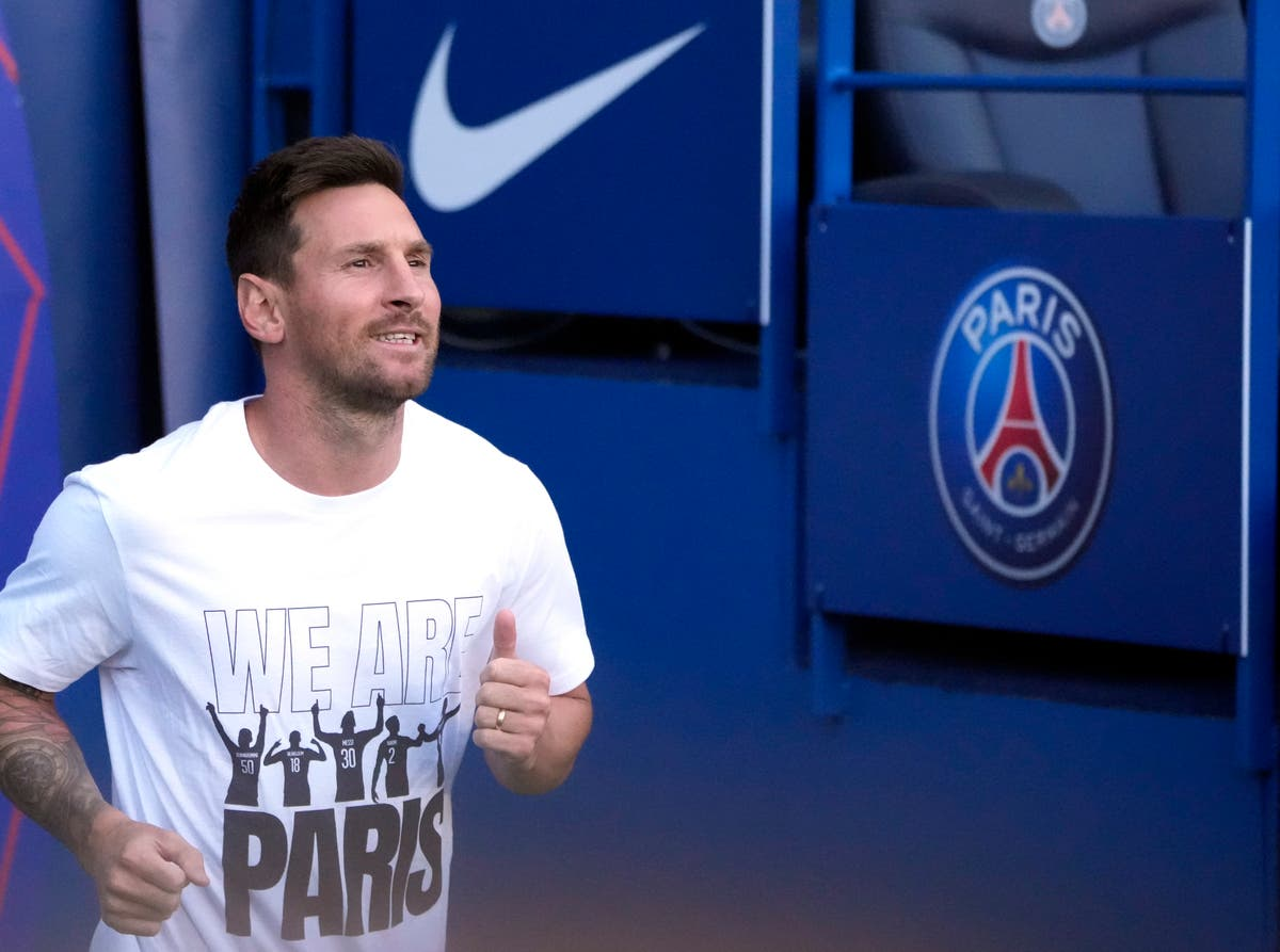 Lionel Messi makes PSG debut off the bench in victory over Reims