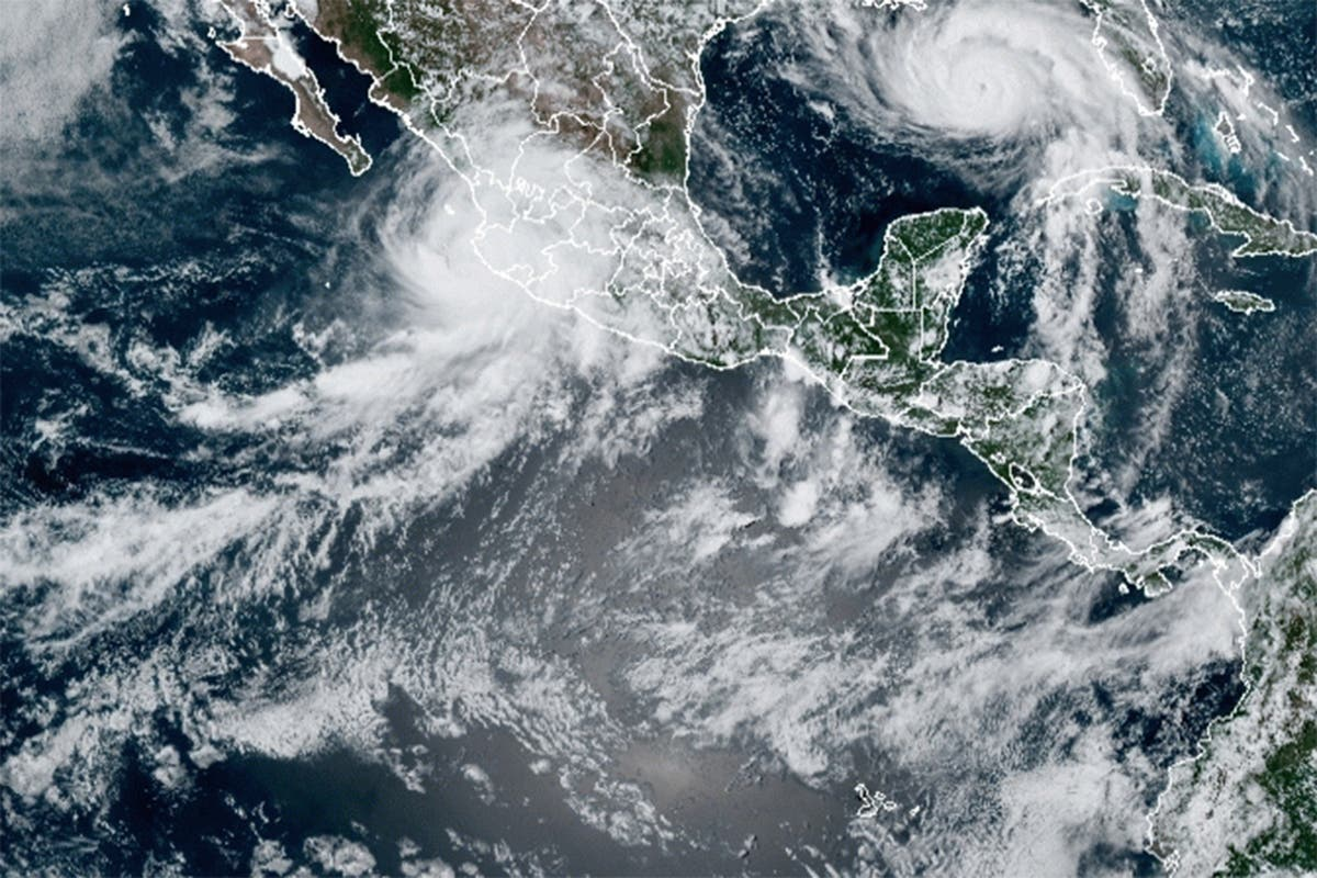 Tropical Storm Nora facing, after leaving 1 dead, 7 missing
