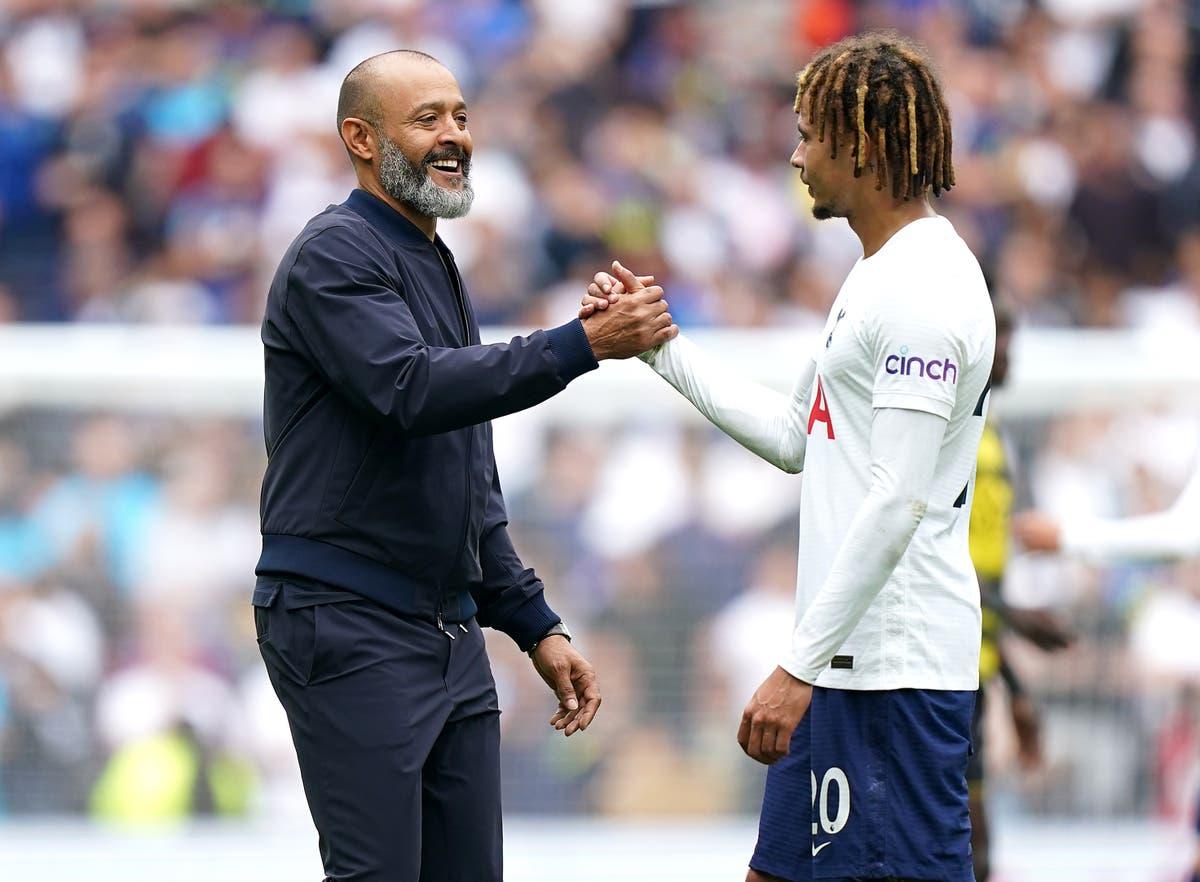 Tottenham's league position means nothing yet, insists Nuno Espirito Santo