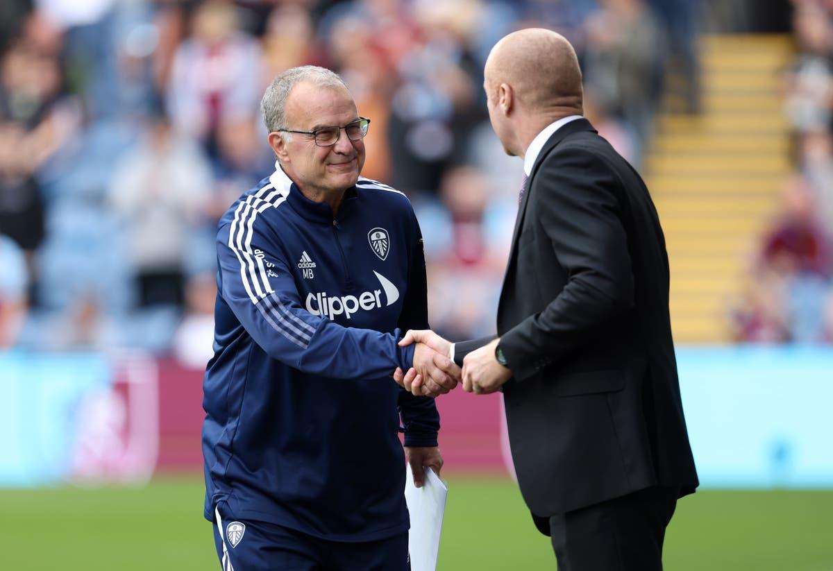 Leeds boss Marcelo Bielsa has no complaints about Burnley's combative approach