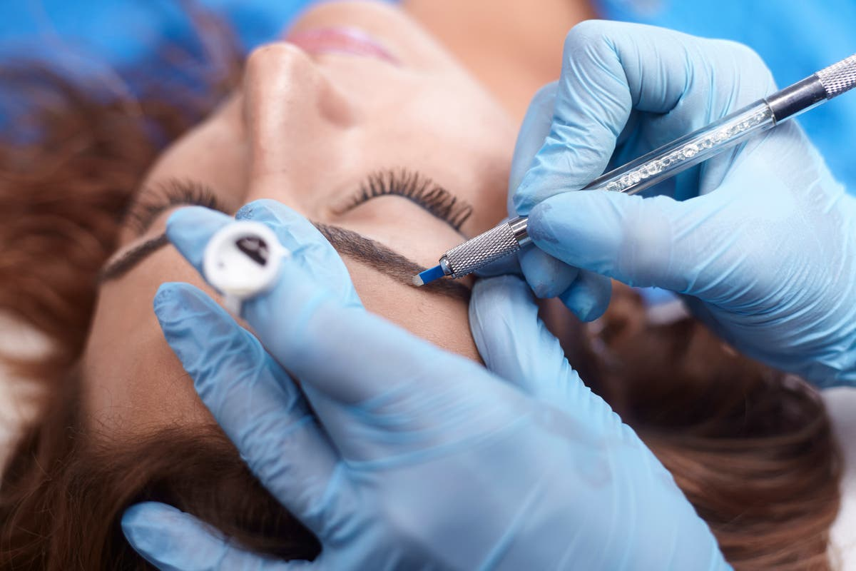 What is microshading and how is it different from microblading?