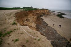 Tales from the edge: The Norfolk village disappearing into the sea