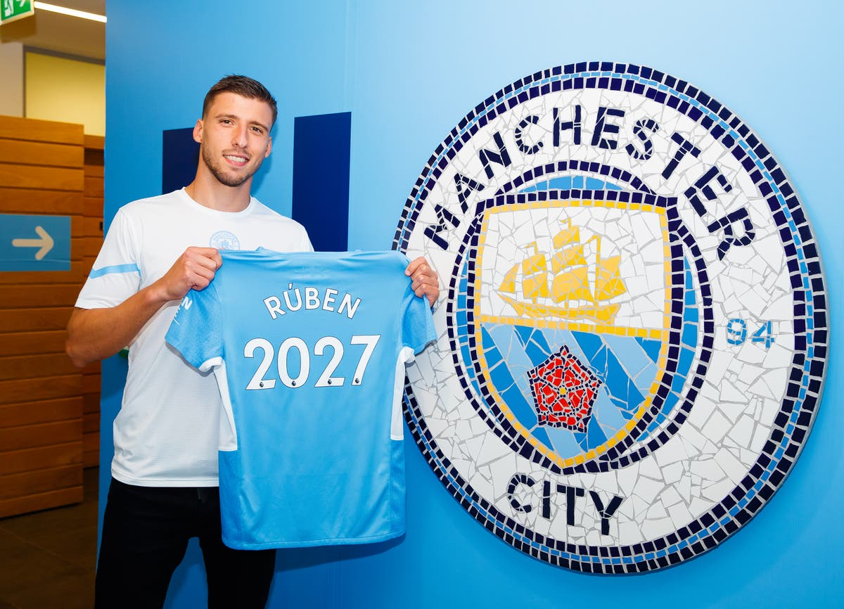 New Manchester City contract is a sign of ambition, Ruben Dias claims