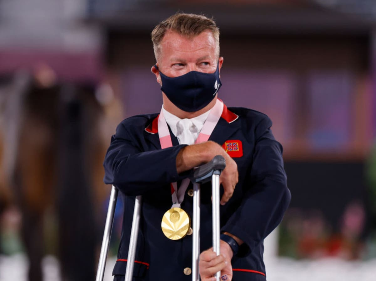 Sir Lee Pearson claims 14th Paralympic gold medal